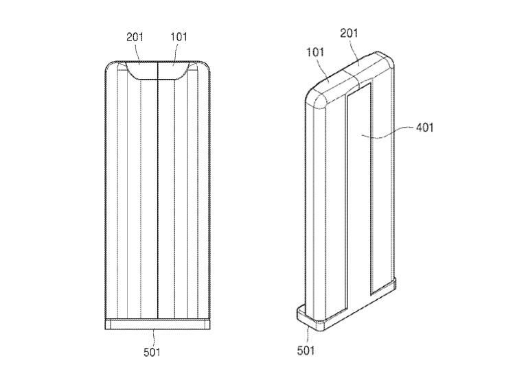 В Samsung запатентован телевизор со скручивающимся экраном