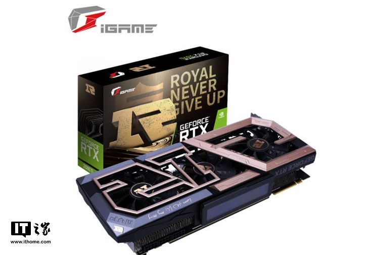 3D-карта Colorful iGame GeForce RTX 2080 Ti RNG оснащена боковым экраном