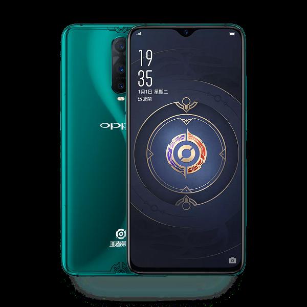 Представлен смартфон Oppo R17 Pro King of Glory Edition