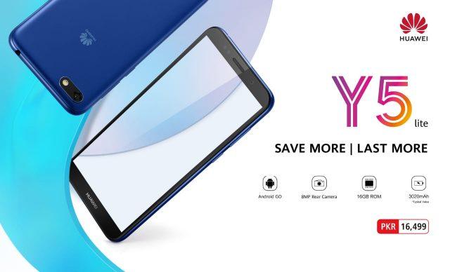 Huawei представила свой второй дешевый смартфон программы Android Go