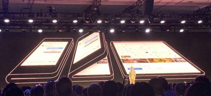 Складной смартфон Samsung будет оснащен строенной камерой