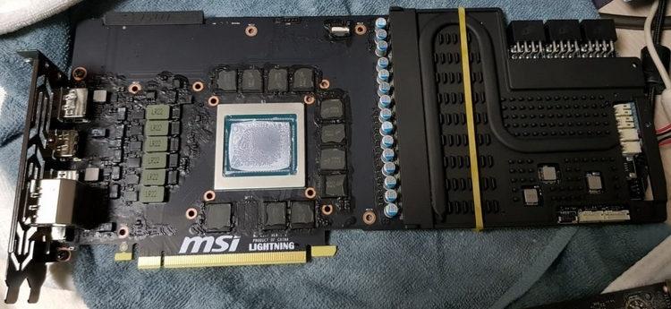 MSI готовит GeForce RTX 2080 Ti Lightning Z с мощной подсистемой питания для экстремального разгона