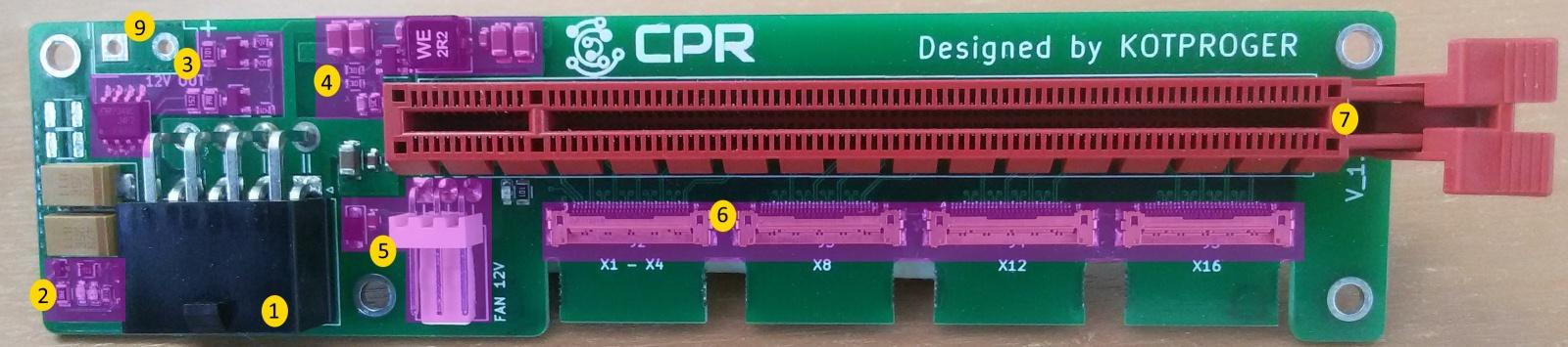 Что нам стоит PCI-E райзер свой построить - 8