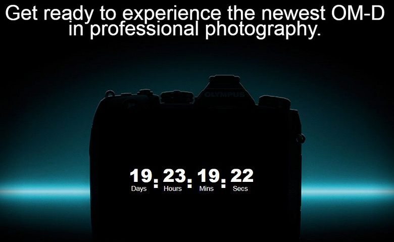 Подтверждена дата анонса камеры Olympus E-M1X
