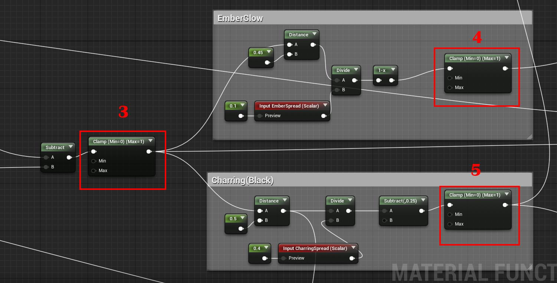 Unreal Engine 4 — шейдер горения - 15