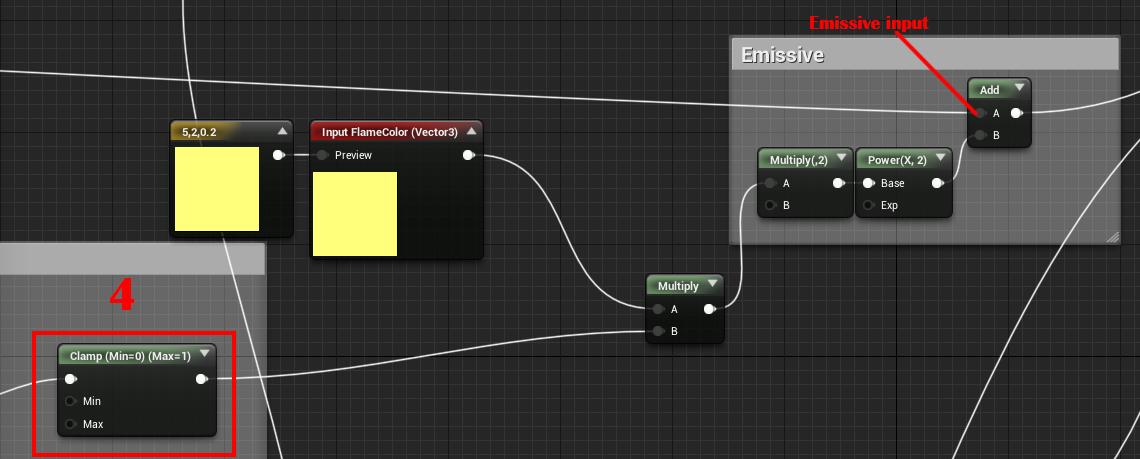 Unreal Engine 4 — шейдер горения - 18