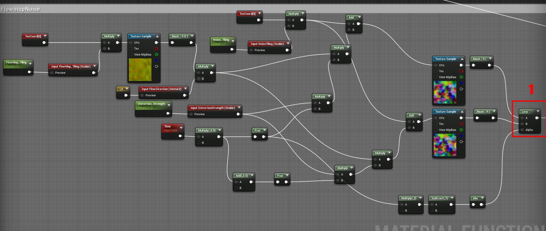 Unreal Engine 4 — шейдер горения - 4