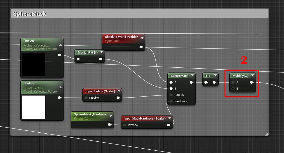 Unreal Engine 4 — шейдер горения - 6