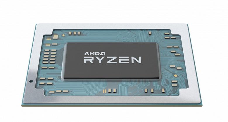AMD представила мобильные процессоры Ryzen нового поколения