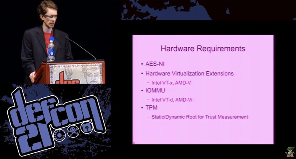 DEFCON 21. Одних паролей недостаточно, или почему «ломается» шифрование диска и как это можно исправить. Часть 2 - 10