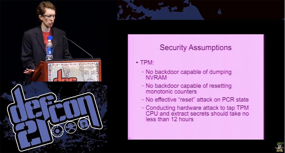 DEFCON 21. Одних паролей недостаточно, или почему «ломается» шифрование диска и как это можно исправить. Часть 2 - 11