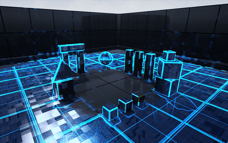 Unreal Engine4 — PostProcess эффект сканирования - 1