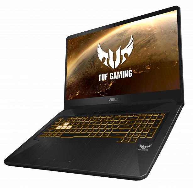 Редкие птицы. Игровые ноутбуки Asus TUF Gaming FX505DY и FX705DY основаны на CPU и GPU AMD