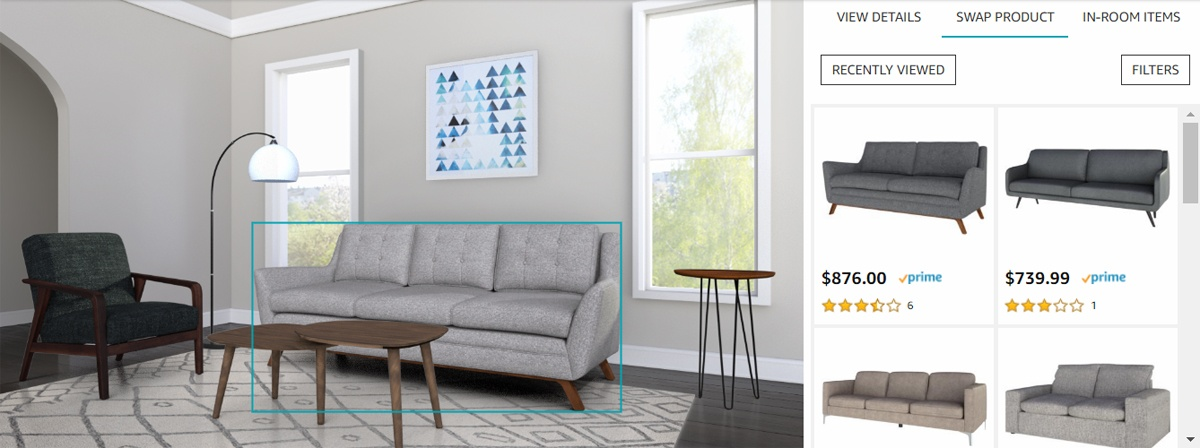 Amazon представила Showroom, или почему мы скоро будем покупать всю мебель онлайн - 1