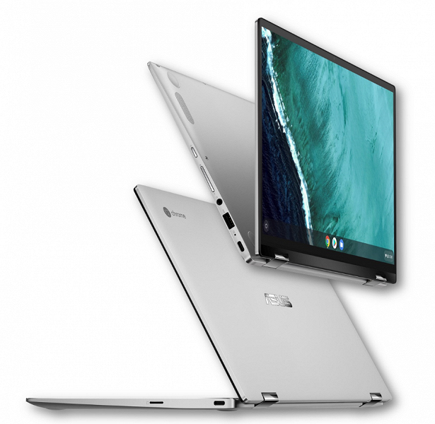 Asus Chromebook Flip C434 – 14-дюймовый хромбук-трансформер на платформе Intel Amber Lake