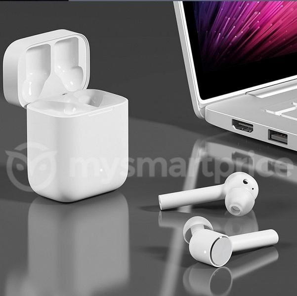 Беспроводные наушники Xiaomi AirPods очень похожи на аналогичные наушники Apple