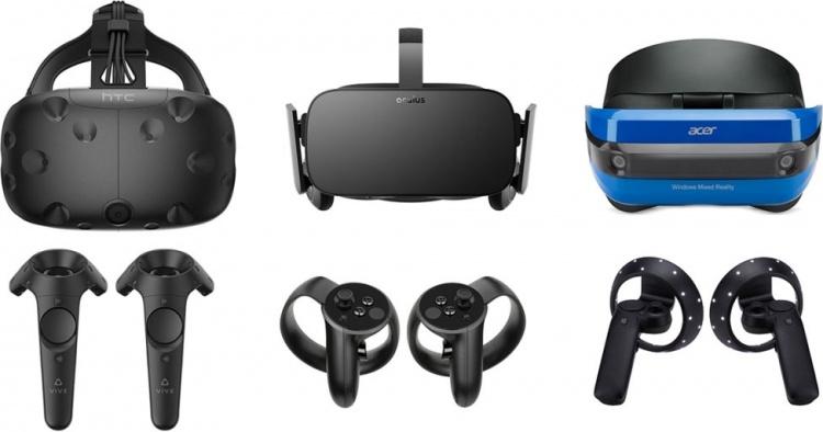 Доля пользователей VR-гарнитур в Steam удвоилась за 2018 год