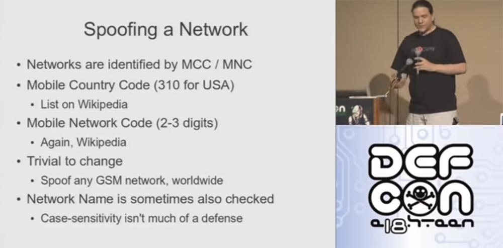 Конференция DEFCON 18. Практический шпионаж с помощью мобильного телефона. Часть1 - 7
