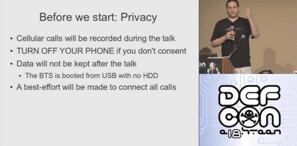 Конференция DEFCON 18. Практический шпионаж с помощью мобильного телефона. Часть1 - 1