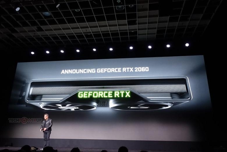 Видеокарта Nvidia GeForce RTX 2060 представлена официально: производительность уровня GeForce GTX 1070 Ti при цене $350