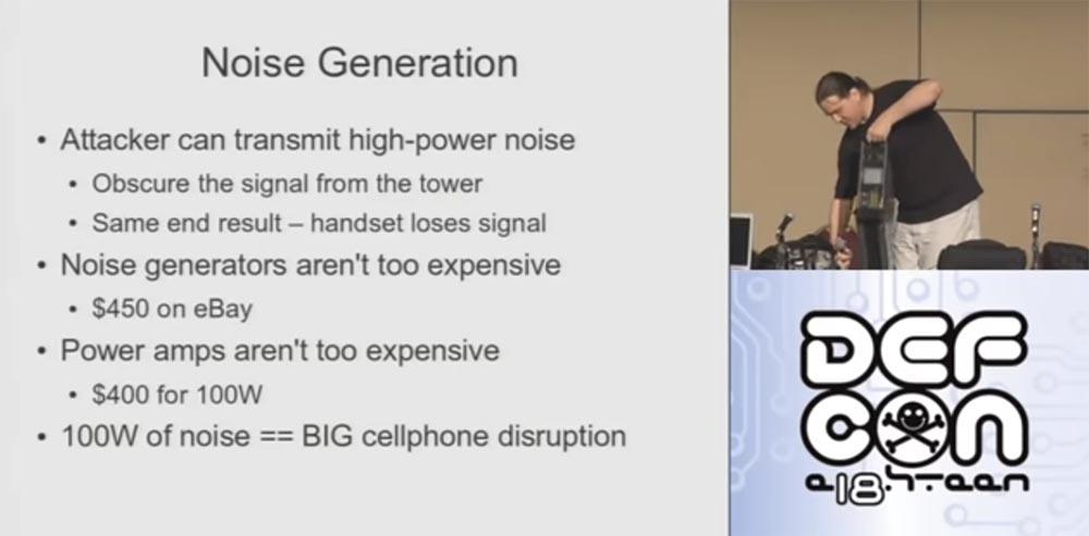 Конференция DEFCON 18. Практический шпионаж с помощью мобильного телефона. Часть 2 - 6