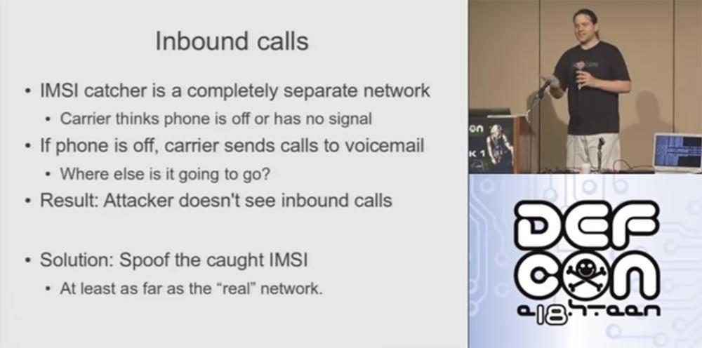 Конференция DEFCON 18. Практический шпионаж с помощью мобильного телефона. Часть 2 - 9