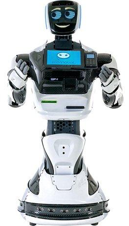 Началось: электромобиль на автопилоте сбил робота - 1