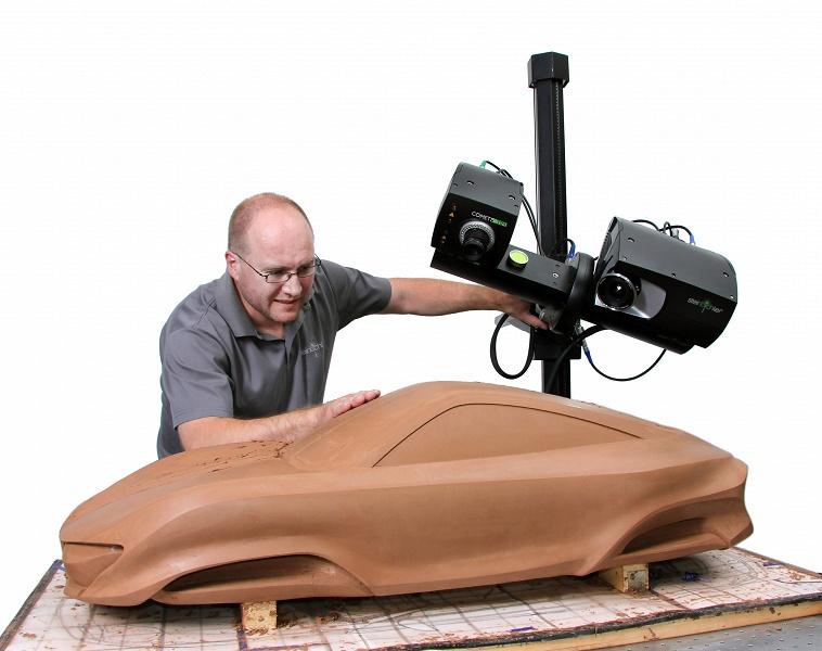 В ближайшие годы стационарных 3D-сканеров будет продаваться больше, чем ручных