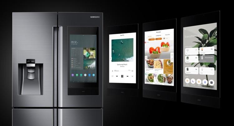 CES 2019: Новые смарт-холодильники Samsung Family Hub с огромным дисплеем
