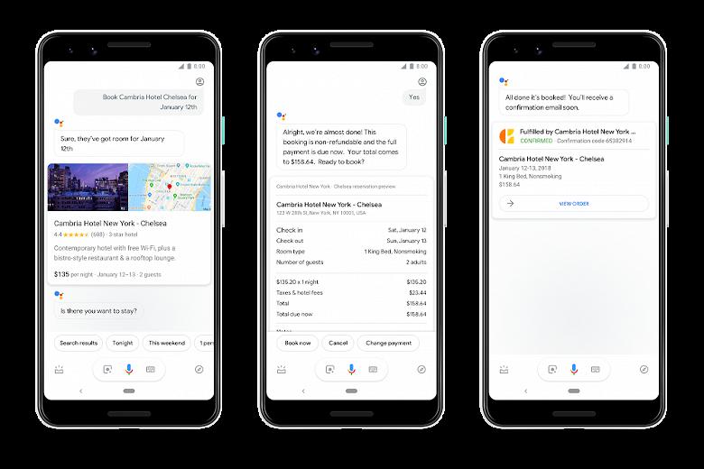 Google Assistant получил массу новых возможностей