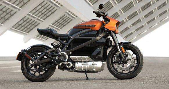 Электромотоцикл Harley-Davidson LiveWire дебютировал на CES 2019
