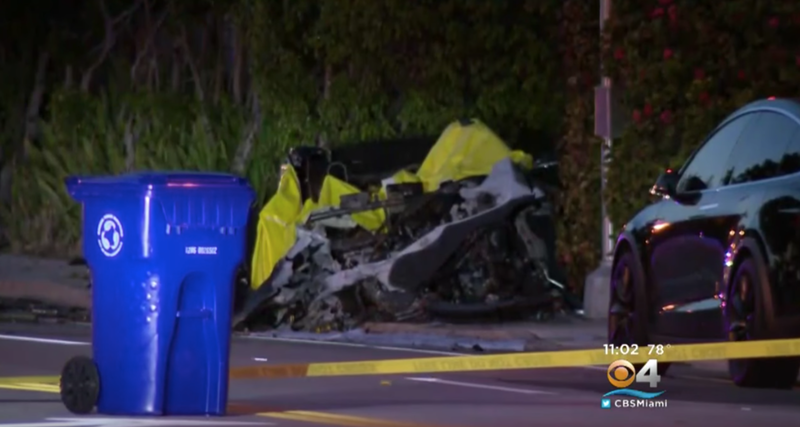 На Tesla подали в суд за аварию, в ходе которой погибли водитель и пассажир Mоdel S - 1