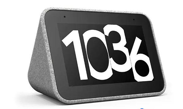 Lenovo представила умные настольные часы за $80 с помощником Google и экраном диагональю 4 дюйма