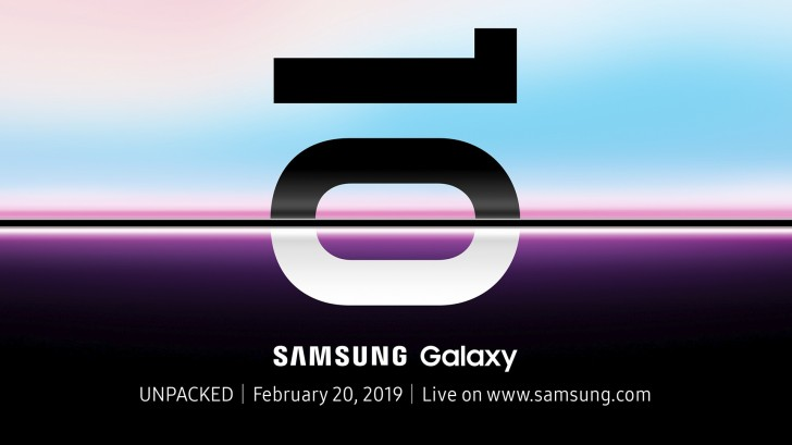 Samsung официально объявила дату презентации флагманского смартфона Samsung Galaxy S10
