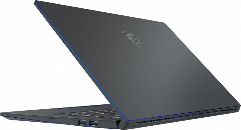 Ноутбук MSI PS63 Modern работает без подзарядки до 16 часов