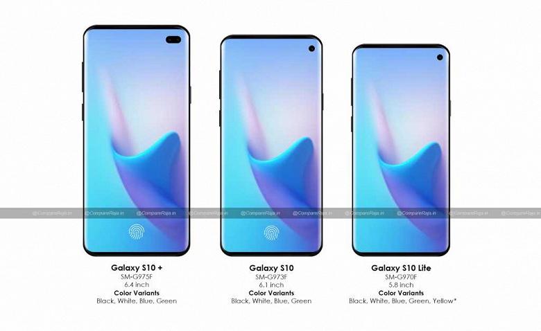 Samsung отменила одну из версий флагманского смартфона Galaxy S10