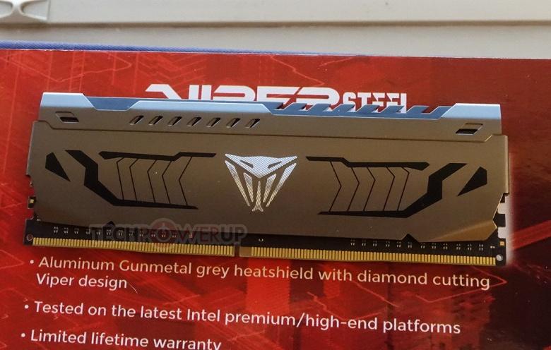 На CES 2019 были показаны наборы модулей памяти Patriot Viper Steel DDR4-4400