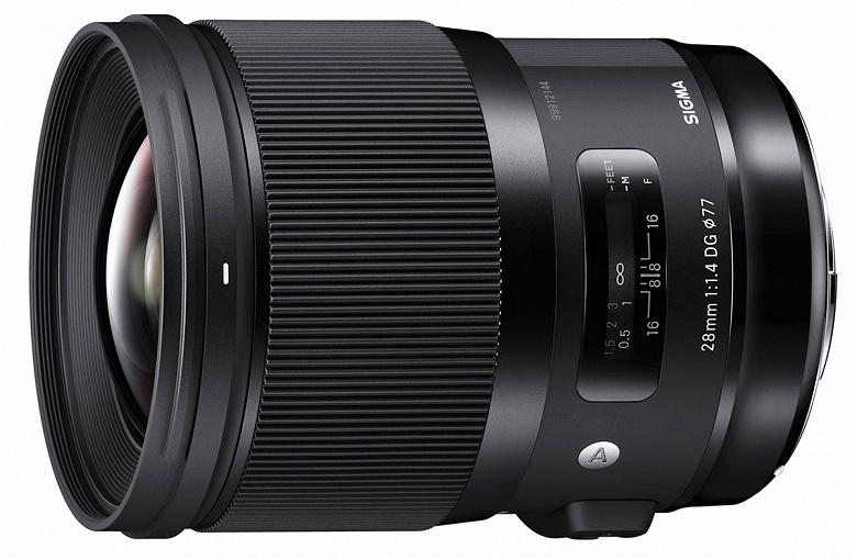 Начат прием предварительных заказов на объектив Sigma 28mm f/1.4 DG HSM Art