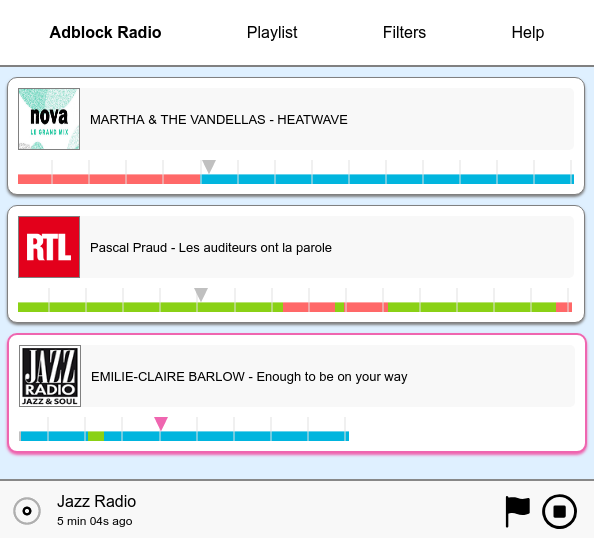 Разработка Adblock Radio - 10