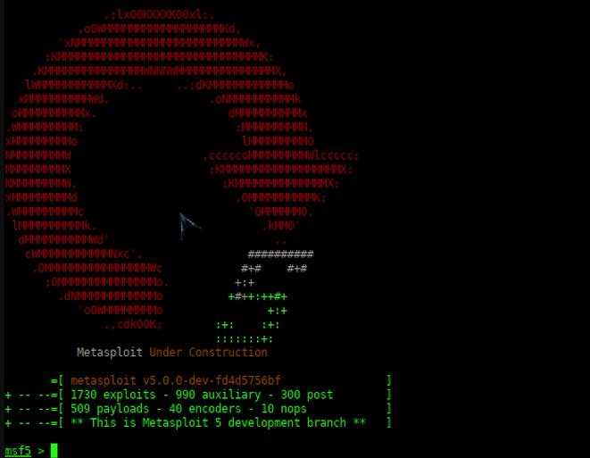 Состоялся релиз Metasploit Framework 5.0 - 3