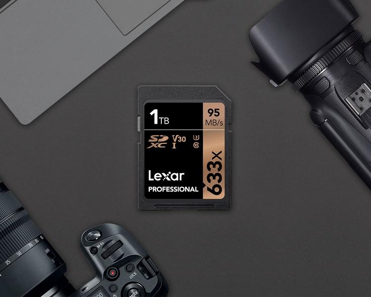 В продаже появилась терабайтная SD-карта - 2