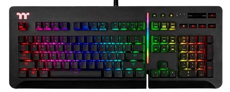 CES 2019: Игровая клавиатура Thermaltake Level 20 RGB с переключателями Cherry MX или Razer
