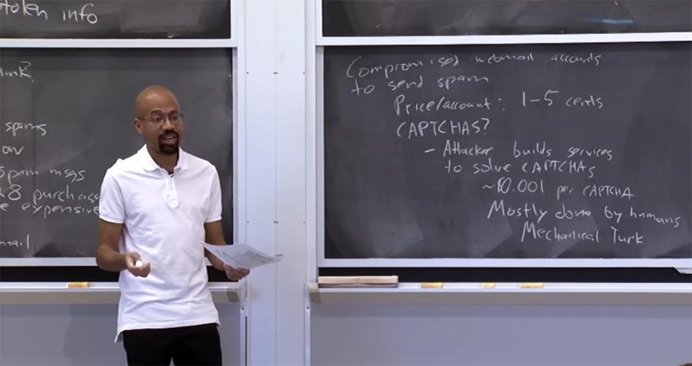 Курс MIT «Безопасность компьютерных систем». Лекция 23: «Экономика безопасности», часть 2 - 6