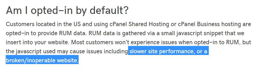 Клиенты GoDaddy недовольны JS-инъекциями со стороны хостера - 2