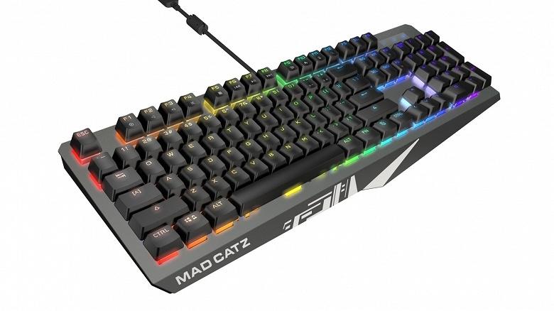 Линейку клавиатур Mad Catz пополнили модели Strike4+ и Strike2+