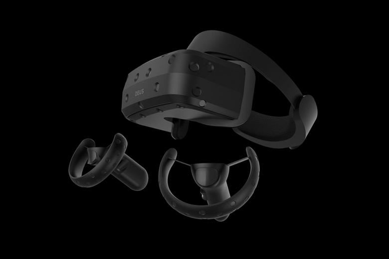 На CES 2019 Deus демонстрировала российский VR-шлем Odin Pre