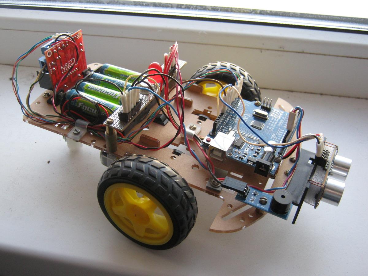 Опыт создания первого робота на Ардуино (робот-«охотник») - 1