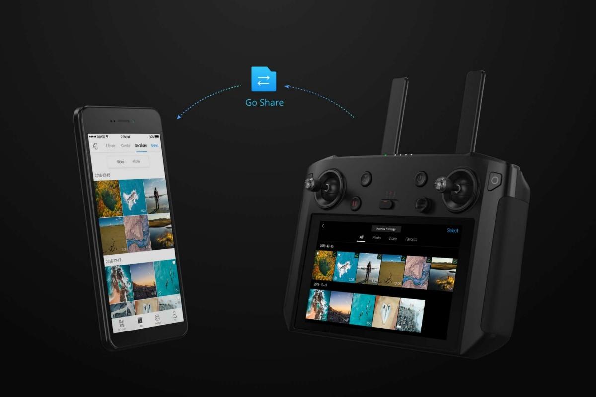 Свобода полетов в ваших руках с DJI Smart Controller - 7