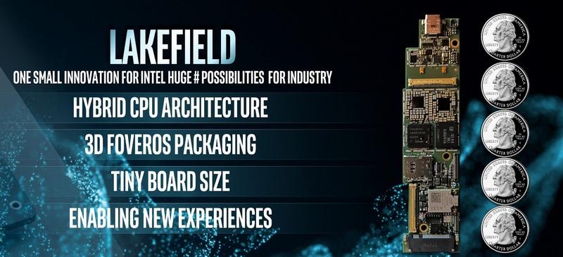 Intel Lakefield: гибридный процессор Atom + Core в 3D - 1