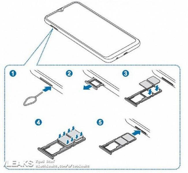 Опубликовав инструкцию, Samsung полностью рассекретила свой самый доступный бюджетный смартфон Galaxy M10